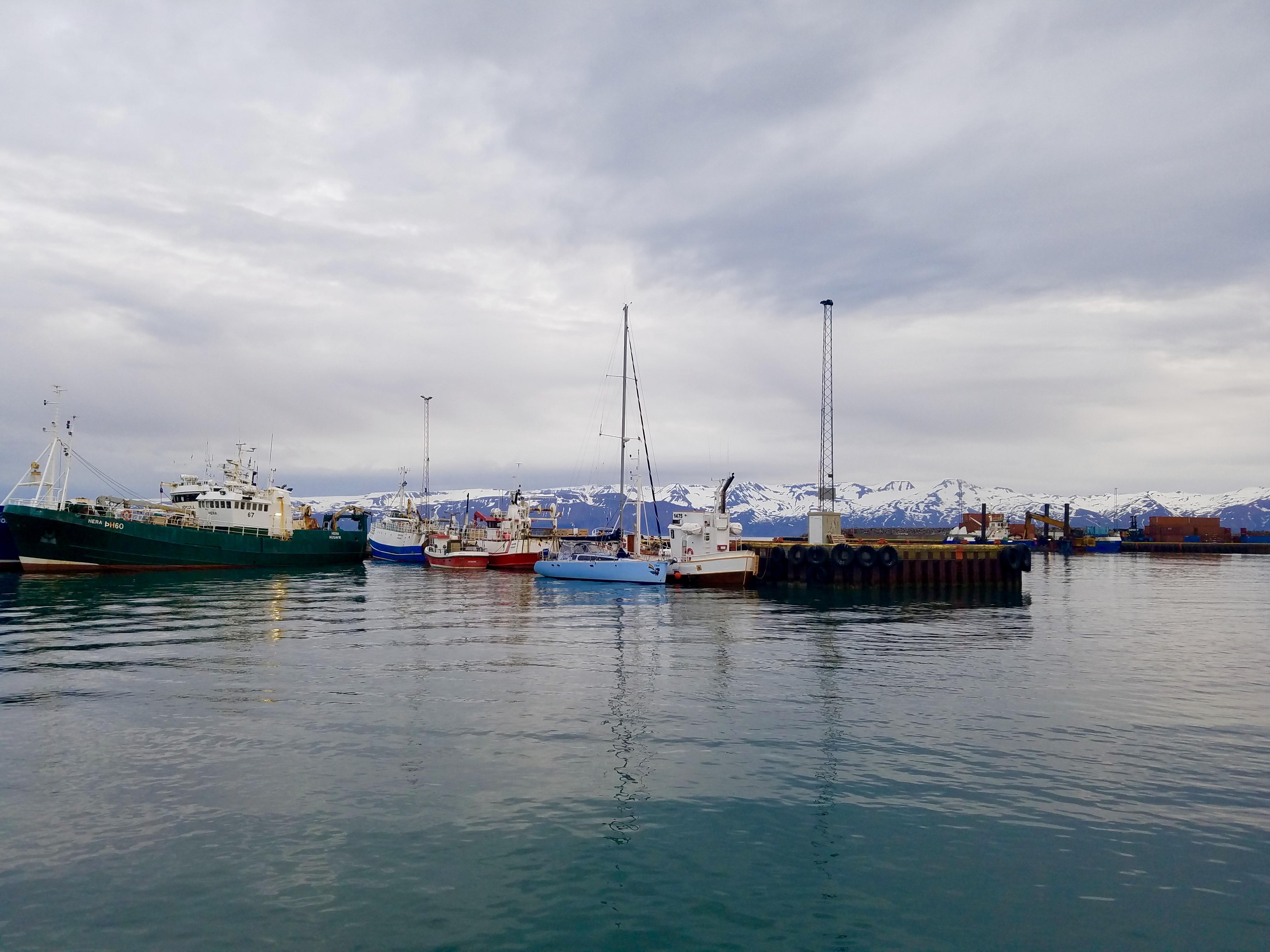 Husavik Harbor