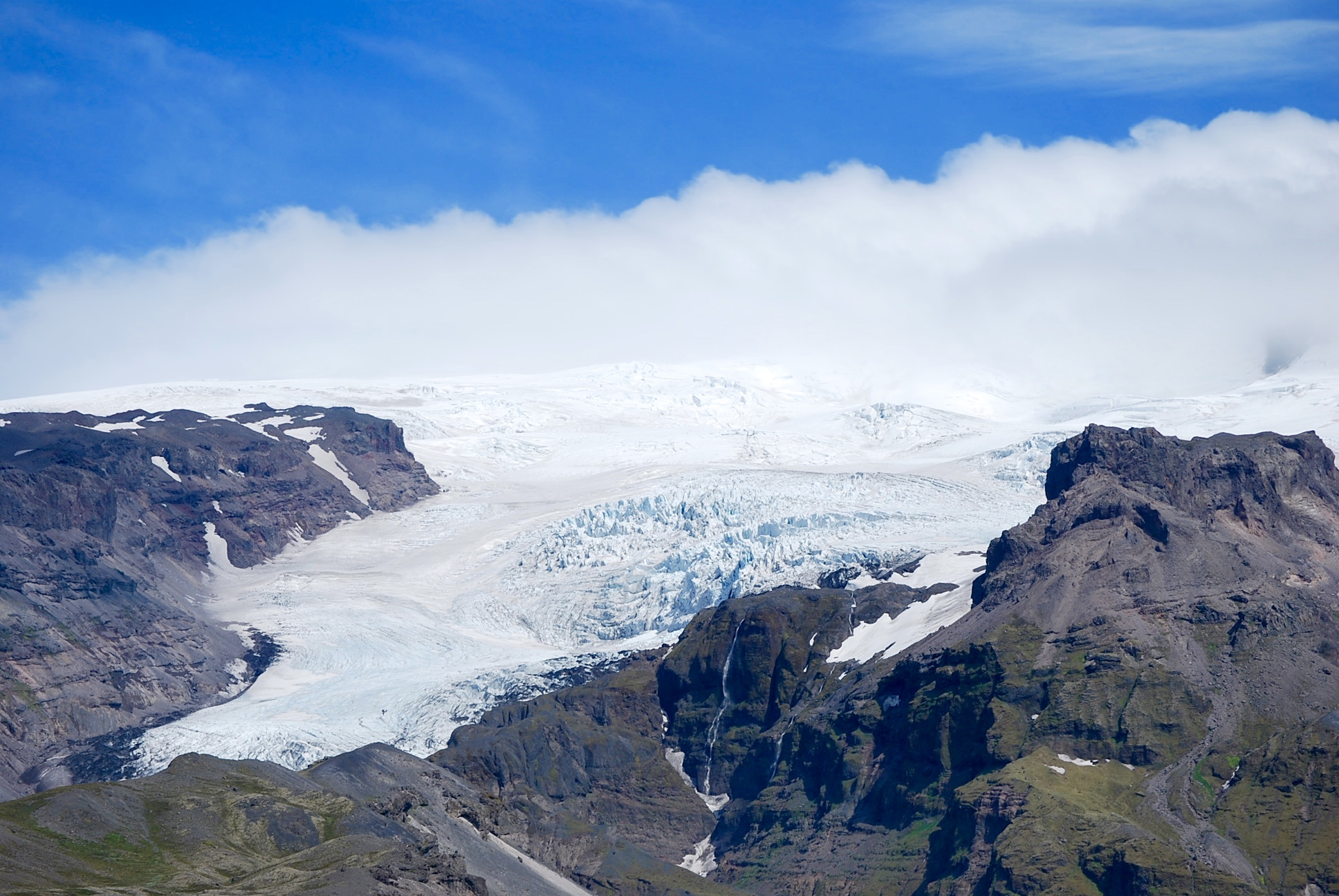 Vatnajökull, the largest glacier in Iceland